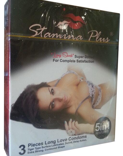 Stamina Plus Condoms