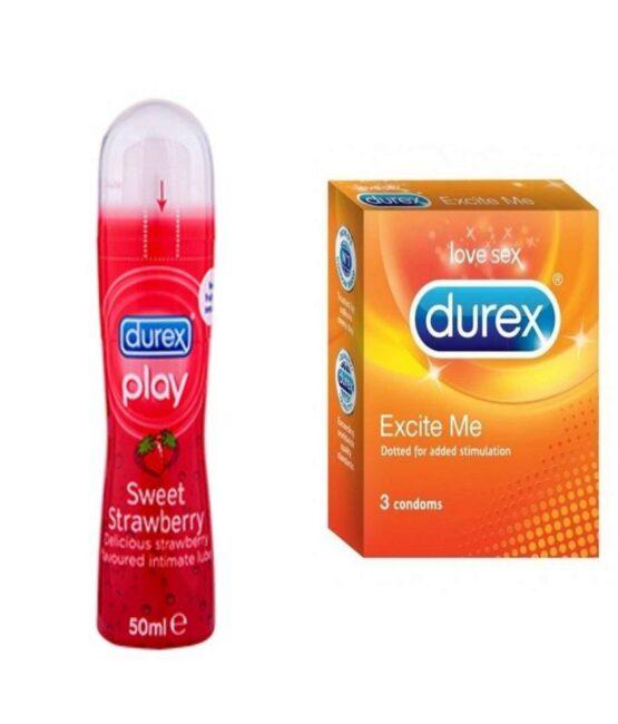 Durex Play Sweet Strawberry Gell