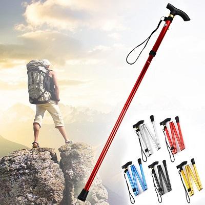 Adjustable Walking Hiking Portable Stick in Pakistan